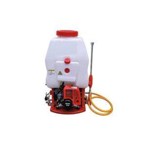 25 Liter Knapsack power sprayer in 26cc gasoline engine with htp jet gun in bijnor uttar pradesh
