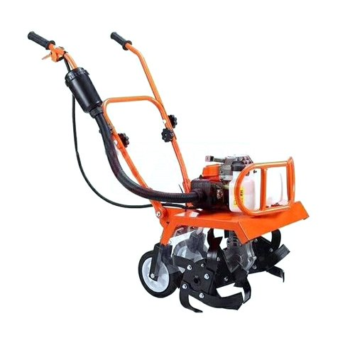 63cc Displacement 2 Stroke Handpush or Trolley Mini power tiller suitable for tilling and weeding