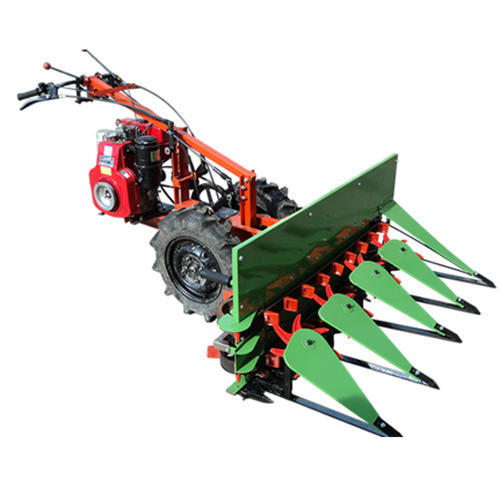 Fighter-700-D 7 HP 4 Feet Width 4 Stroke Diesel Engine Yoddha Power Reaper+Intercultivator