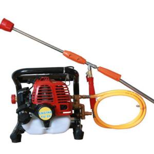 Knapsack Portable Power Sprayer- 2 Stroke Gasoline Engine in 26 CC Displacement with Brass Pump And Spray Gun