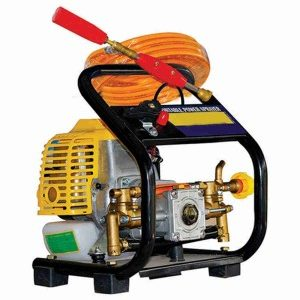 Portable Power Sprayer- 139F 3600 RPM 4 Stroke Gasoline Engine in 31 CC Displacement with Brass Pump And Spray Gun