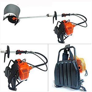 VGT-52CC-BP BACKPACK 2 STROKE 40ML OIL MIX GASOLINE BRUSH CUTTER IN BIJNOR UP