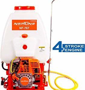 VGT-KPS-139F-708 Vinspire Agrotech 4 Stroke 25 Liter Tank Knapsack power sprayer in 31cc gasoline engine with htp jet gun