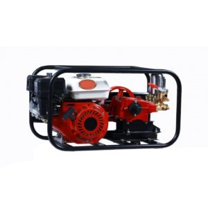 Vinspire HTP Sprayers (VGT-SM-22)-HTP complete set with 6.5 HP Petrol Engine and Belt Pulley 3 Piston Pump 1/2 Inch Cock