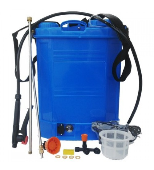 12V * 8 AH 18 Liter Water Tank With 3.6 LPM Pump & Good Quality Delivery Pipes And Belt Pair