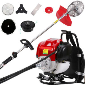 35CC SINGLE CYLINDER BACKPACK GASOLINE ENGINE 4STROKE 7000 RPM BRUSH CUTTER-VGT-35CC-BP