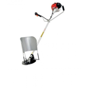 43cc Heavy duty 28mm shaft 2 stroke single cylincer airforced cool sidepack brush cutter for harvesting standing produce