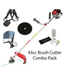 MKKY-43CC-SP-Petrol brush cutter-43cc Heavy duty 28mm shaft 2 stroke engine
