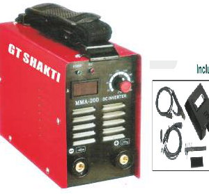 GT Shakti- Blue Pantone-313C Inverter Welding Machine-GT-MMA200