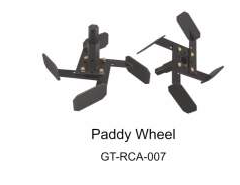 PADDY WHEEL SET ATTACHMENTS OF POWER WEEDER