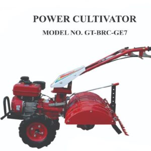 GT-SHAKTI-7 HP AIR COOLED 4 STROKE PETROL ENGINE BACK ROTORY POWER WEEDER SELF START-GT-BRC-GE7